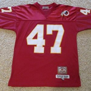 NFL #47 Collectible Chris Cooley Football Jersey